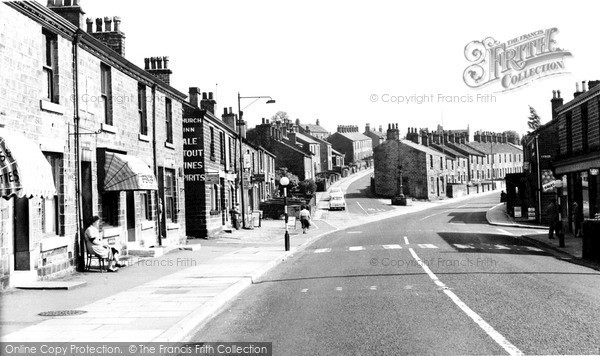 Tintwistle, the Village Centre c1960