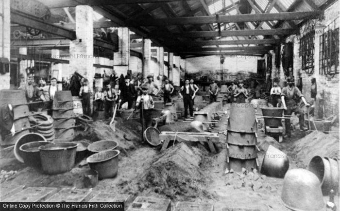 Photo of Tipton, Charles Lathe & Co Foundry 1920