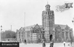 Public Library, Victoria Road c.1910, Tipton