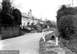 Entrance To Village c.1939, Tipton St John