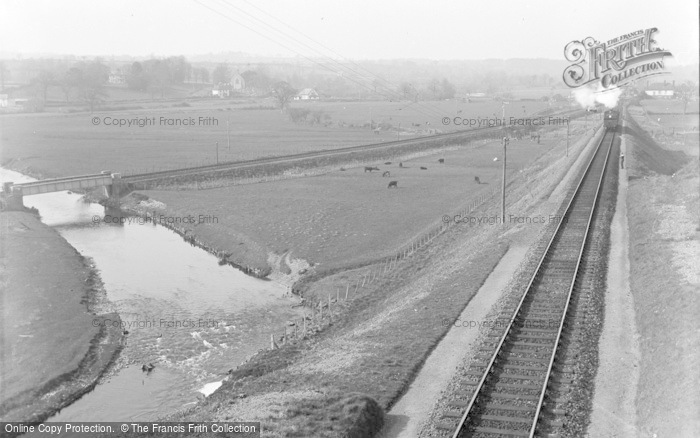 Photo of Tipton St John, The Railway Junction c.1939