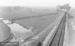 The Railway Junction c.1939, Tipton St John