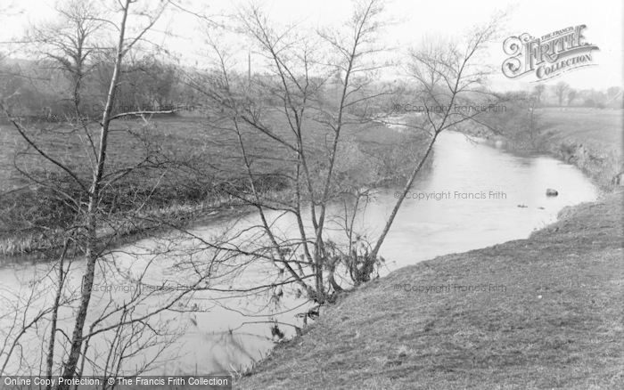 Photo of Tipton St John, The River c.1939
