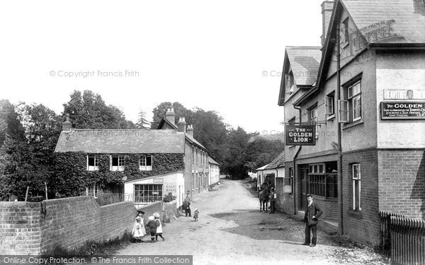 Photo of Tipton St John, Village 1906
