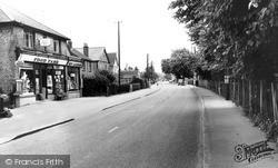 Tiptree, Church Road c.1960