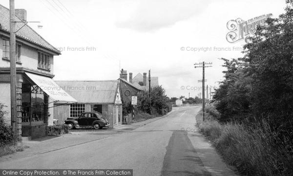 Photo of Tiptree, Co Op Corner c.1955