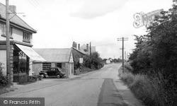 Tiptree, Co-Op Corner c.1955