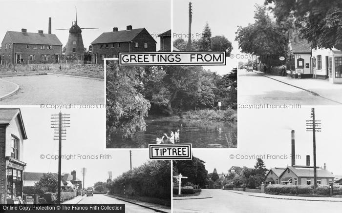 Photo of Tiptree, Composite c.1955