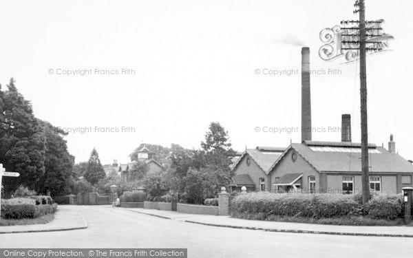 Photo of Tiptree, Factory Corner c.1955