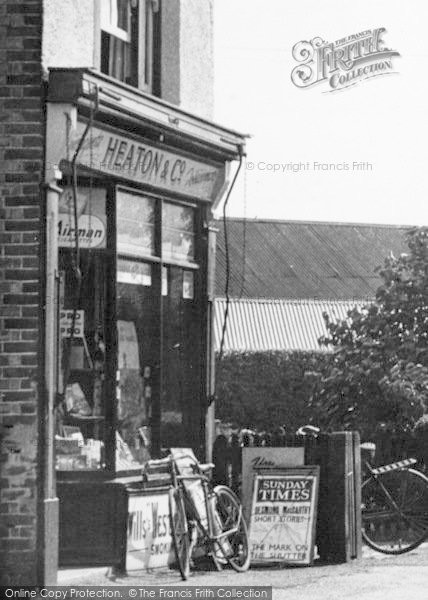 Photo of Tiptree, Heaton's Newsagent c.1955