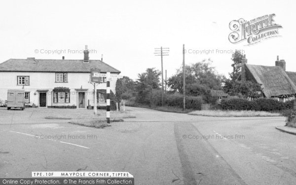 Photo of Tiptree, Maypole Corner c.1955