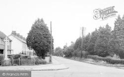 Tiptree, Memorial Corner And Chapel Road c.1955