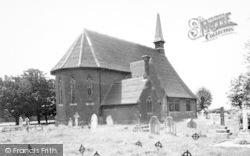 Tiptree, St Luke's Church c.1955