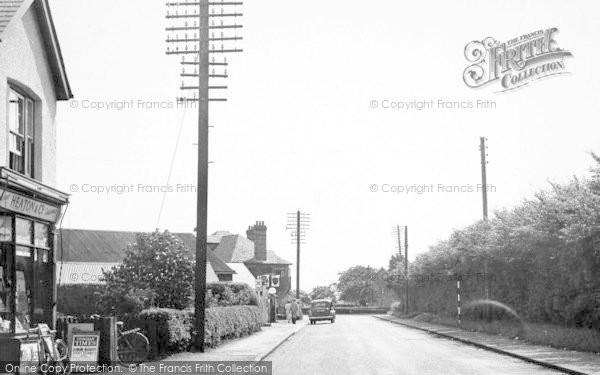 Photo of Tiptree, Station Road c.1955