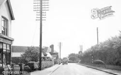 Tiptree, Station Road c.1955
