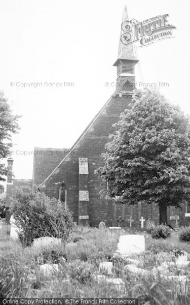 Photo of Tiptree, The Church c.1955