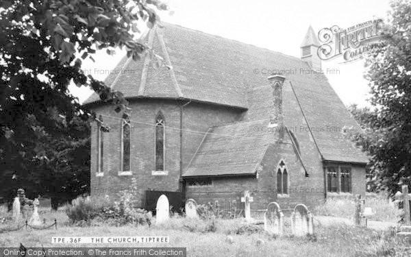 Photo of Tiptree, The Church c.1960