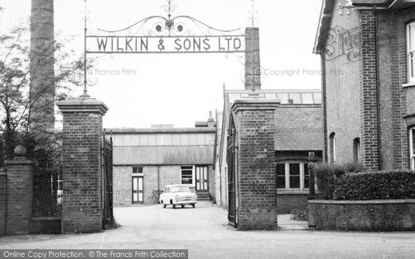 Photo of Tiptree, The Jam Factory c.1955