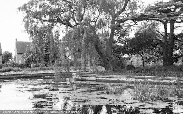 Photo of Tiptree, The Lake c.1955