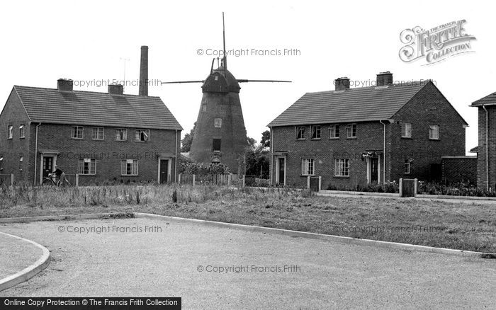 ,Tiptree, the Windmill c1955, Essex,
