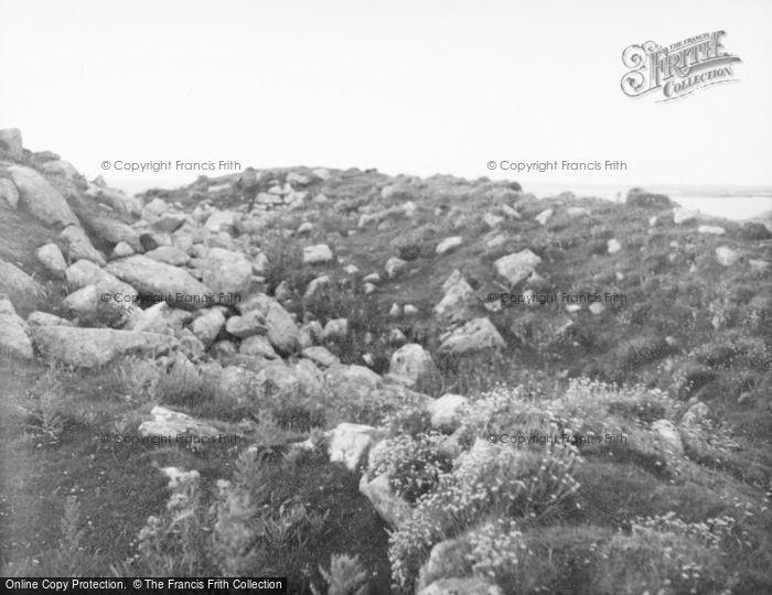 Photo of Tiree, Dun Mor Vaul 1957