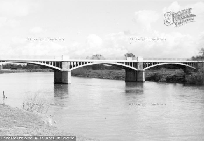 Photo of Tirley, River Severn And Haw Bridge c.1950