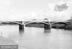 Tirley, River Severn And Haw Bridge c.1950