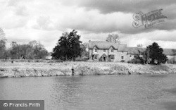 Tirley, River Severn And Malthouse c.1950