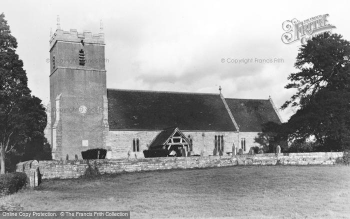 Photo of Tirley, St Michael's Church c.1950
