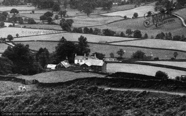 Photo of Tirril, Houses In Tongue Gill c.1930