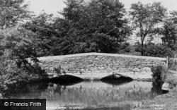 Anjou Bridge And The River Meon c.1955, Titchfield