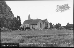 Church From The River c.1960, Titchfield