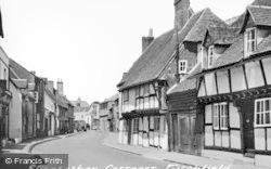 Elizabethan Cottages, South Street c.1955, Titchfield