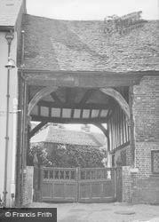 Gateway To The Old Lodge c.1955, Titchfield