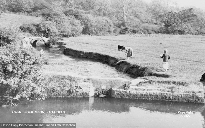 Photo of Titchfield, The River Meon c.1960