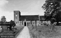 Titley, St Peter's Church c.1960