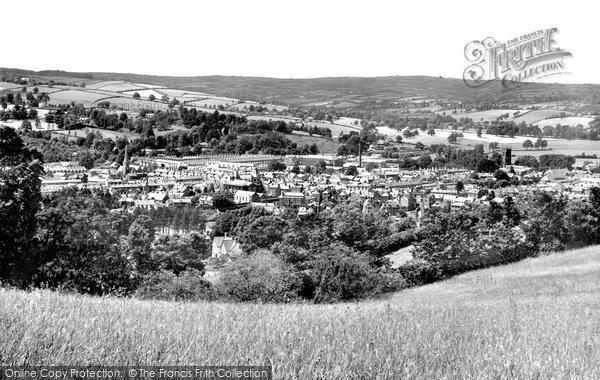 Photo of Tiverton, Birds Eye View 1930