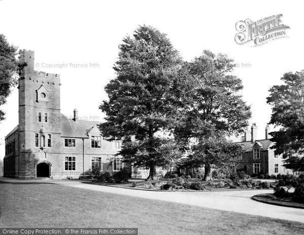 Photo of Tiverton, Blundell's New School 1890