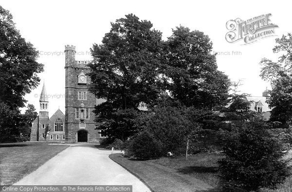 Photo of Tiverton, Blundell's School 1896