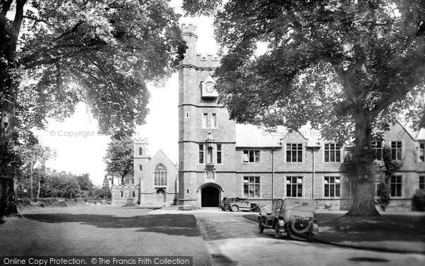 Photo of Tiverton, Blundell's School 1930