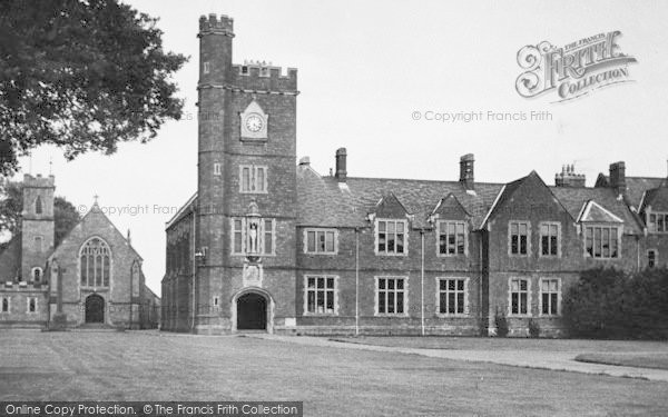 Photo of Tiverton, Blundell's School c.1950