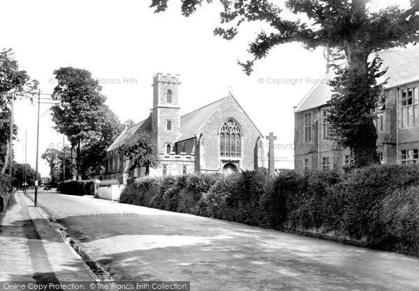 Photo of Tiverton, Blundell's School Chapel 1930