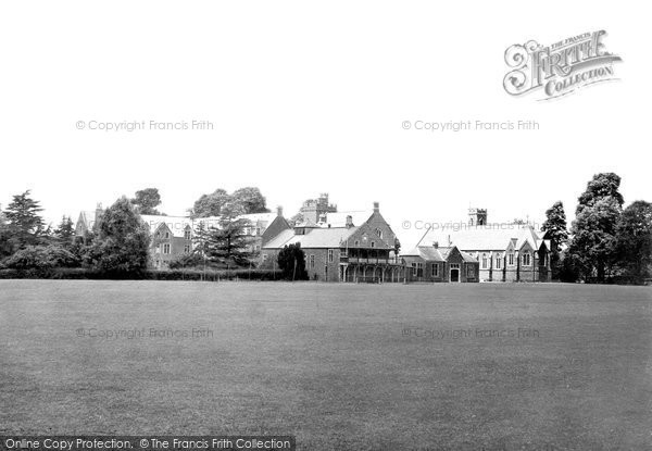Photo of Tiverton, Blundell's School From Playing Field 1930