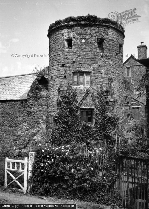 Photo of Tiverton, Castle 1959