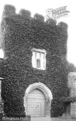Tiverton, Castle, Gateway 1896