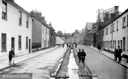 Tiverton, Castle Street 1920