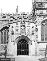 Tiverton, Church Porch c.1869