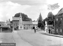 Tiverton, Clock Tower And Lowman Bridge 1920