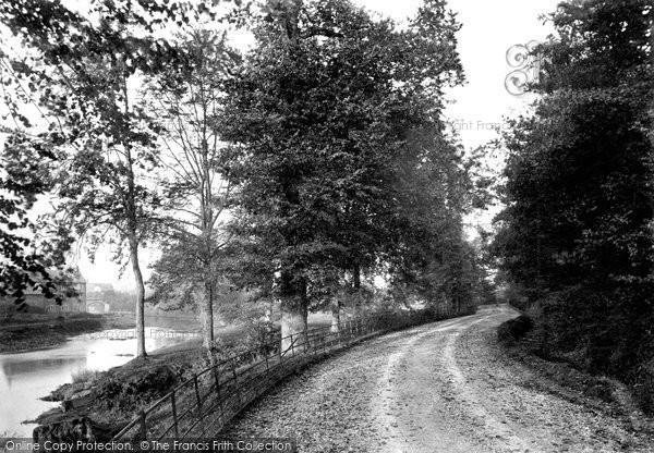 Photo of Tiverton, Collipriest Avenue 1890