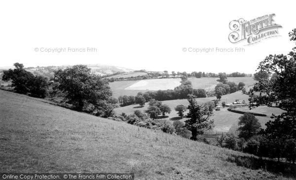 Photo of Tiverton, Country View c.1960